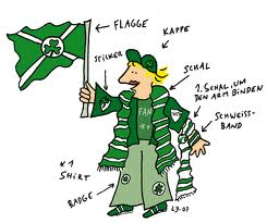 Image result for Celtic fans CARTOON