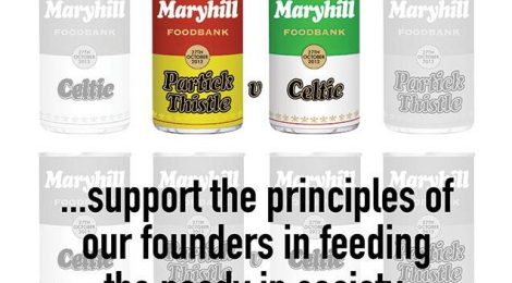 Celtic Supporters - Please Help Maryhill Foodbank