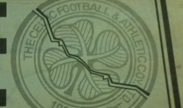 Celtic Diary Saturday February 28: Flares ? Time For The Cracked Crest.