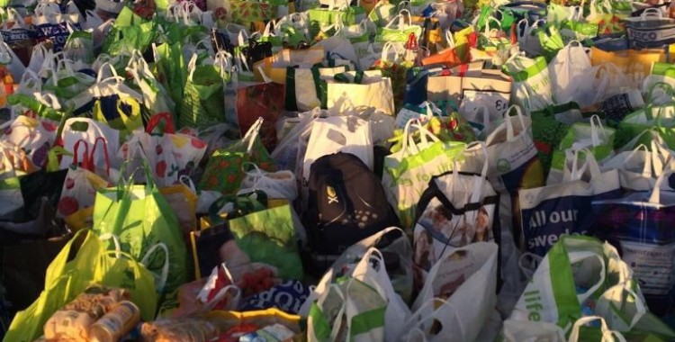 Celtic Fans Incredible Foodbank Support - Good Will Prevail