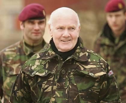 John Reid and army