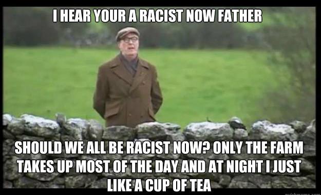 Celtic Diary Saturday November 21: So, I Hear I'm a Racist Now