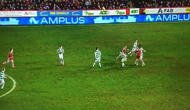 A Picture That Sums Up Celtic's Defence  Under Ronny Deila