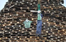 Celtic Diary Saturday July 15: Bonfires, Bottles and Bigots in Belfast