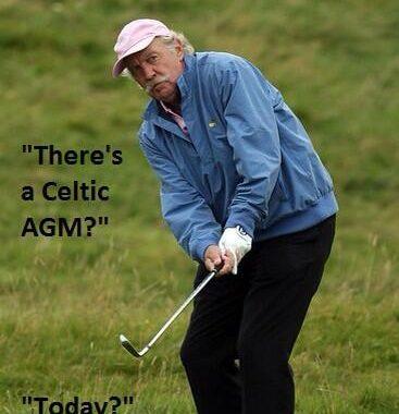 Celtic diary Wednesday November 15: AGM Day